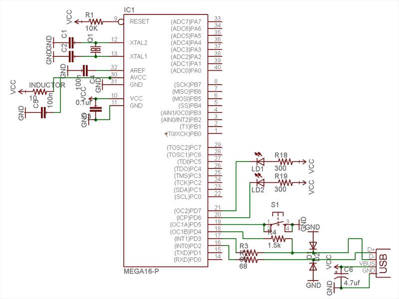 work in progress » V-USB tutorial (software-only usb for
